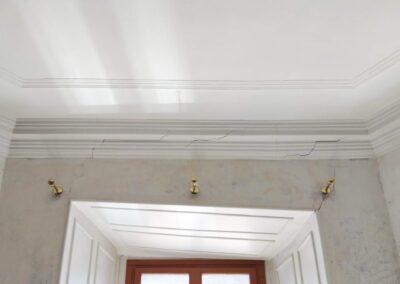Réparation de fissures sur les murs d'une maison