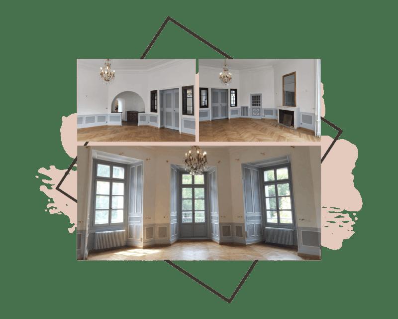 AM PEINTURE : Rénovation - remise en état de vos intérieurs : dégâts, fissures, délabrements