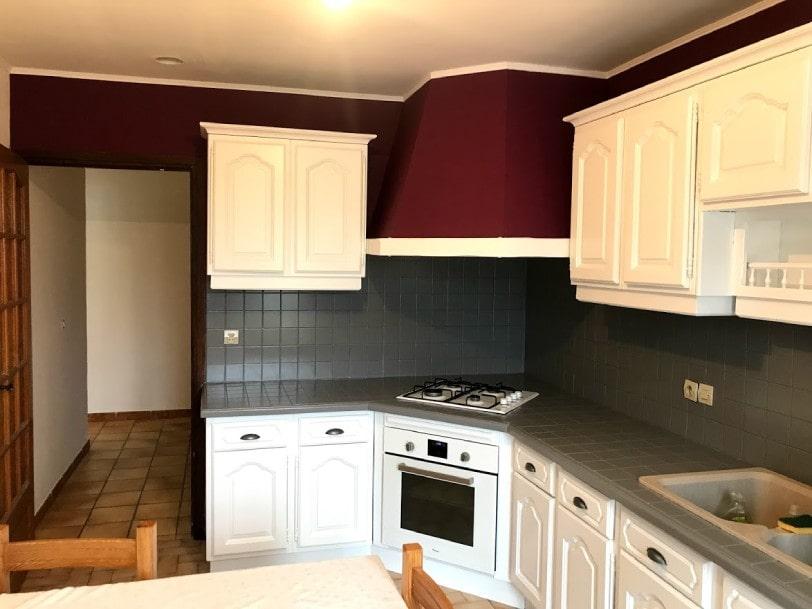 AM PEINTURE : rénove votre maison : modernisation d'une cuisine complète : crédence et peinture